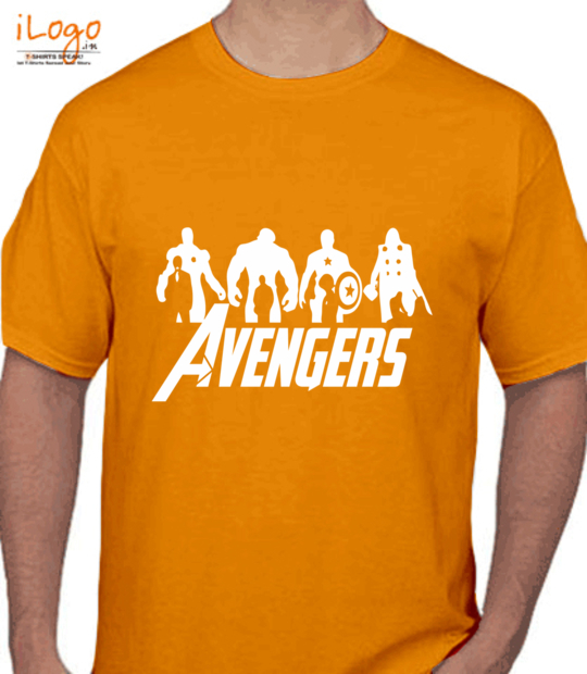 gold #avengres:front