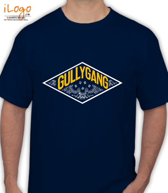 navy blue gully gang:front
