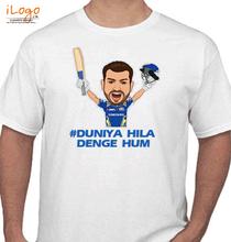 Rohit Sharma duniya-hila-denge-hum T-Shirt