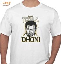 MS Dhoni enga-thala-dhoni T-Shirt