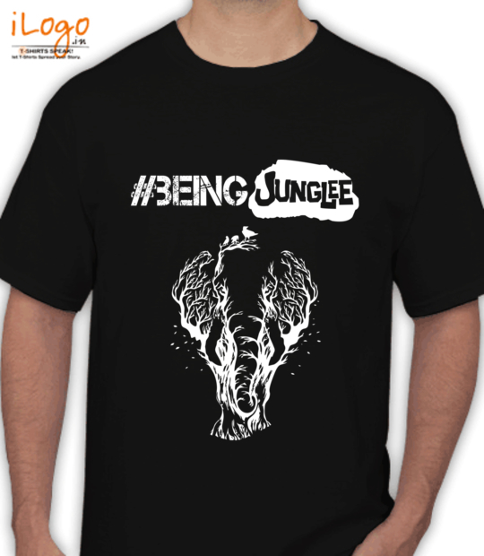 black #beingjunglee:front