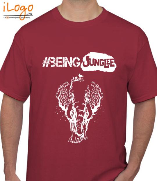maroon #beingjunglee:front