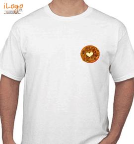 Paratha heart - T-Shirt
