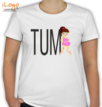 Couple hum-tum-womens-t-shirts T-Shirt