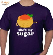 Couple she-is-my-sugar-mens T-Shirt