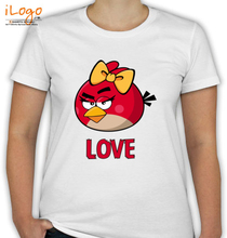 Couple angry-love-womens-tshirts T-Shirt