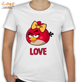 angry love womens - T-Shirt [F]