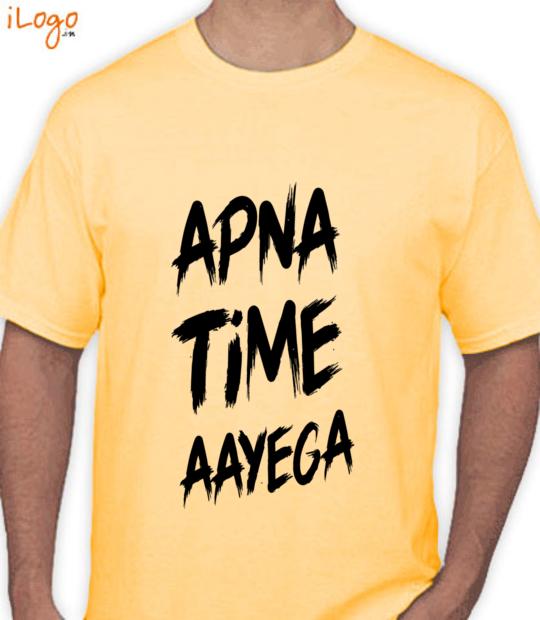 yellow #apnatimeaayega:front