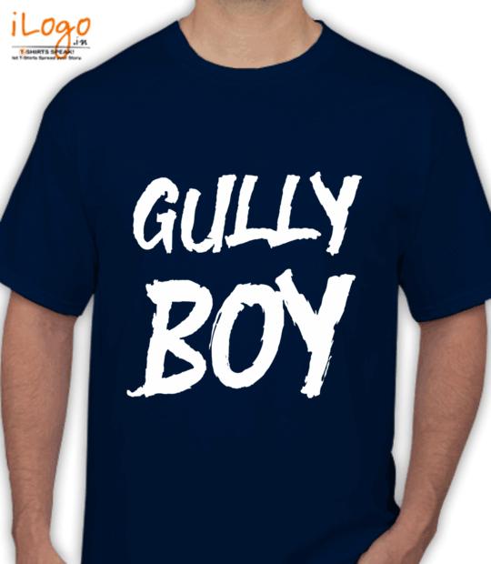 navy blue gully boy:front