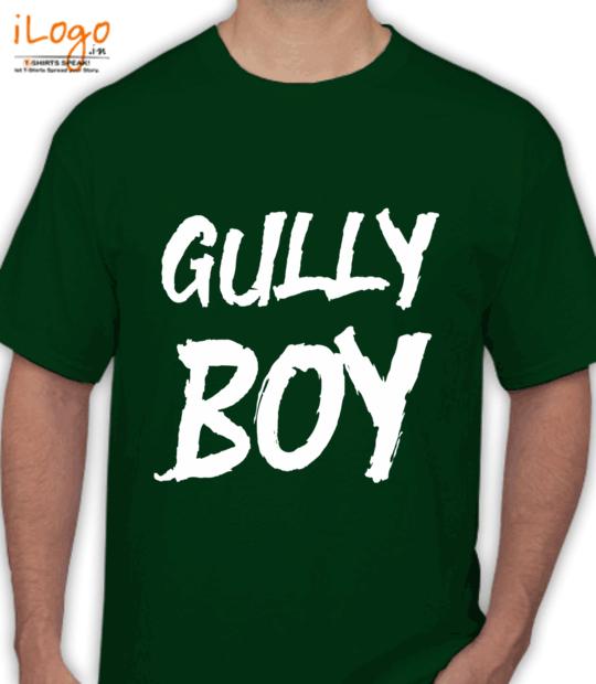 bottle green gully boy:front