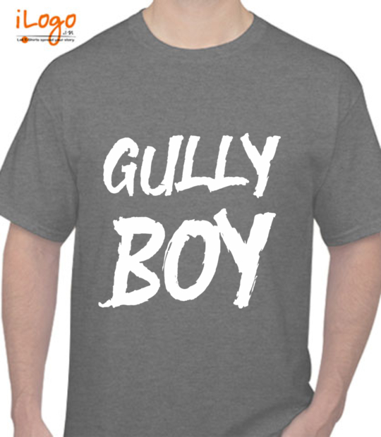 charcoal gully boy:front