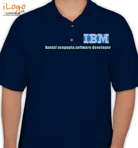 Ibm Logo Personalized Polo Shirt At Best Price Editable Design India