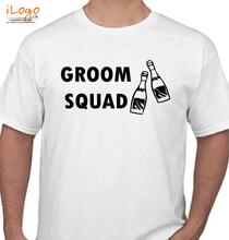 Bachelor Party groom-squabottles T-Shirt