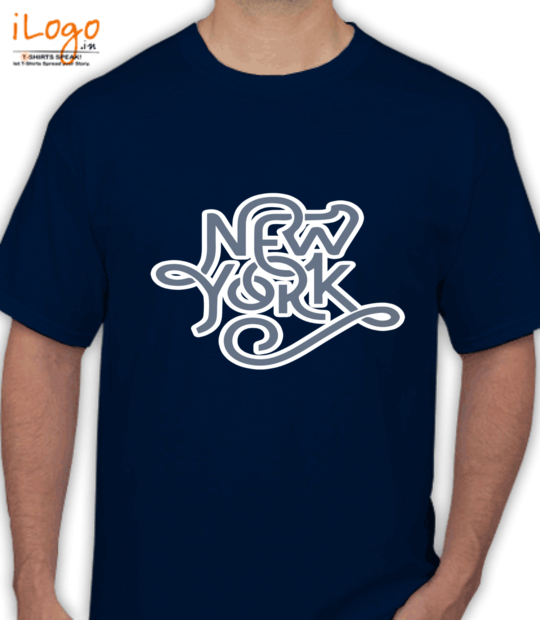 navy blue new york:front