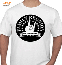 Family Reunion OUR-FAMILY-ROCKS-TOGETHER T-Shirt