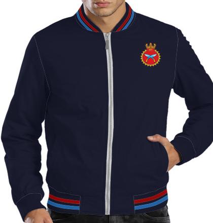Indian Navy Zipper Jackets INS-Khukri-emblem-JACKET T-Shirt