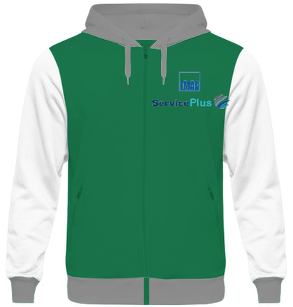 Zipper Hoodies Emag-Logo- T-Shirt