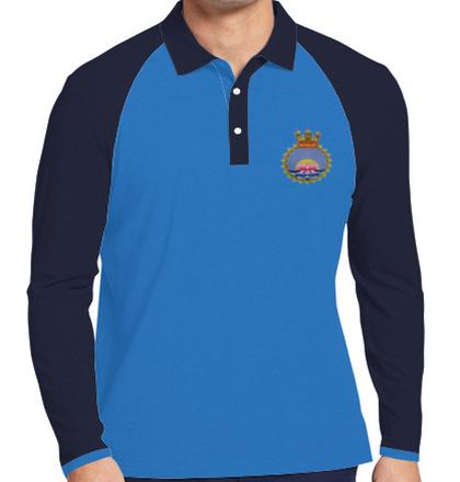 Indian Naval Design Crest-of-INHS-Kalyani T-Shirt