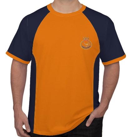 Indian Naval Design Crest-of-INHS-Kasturi T-Shirt