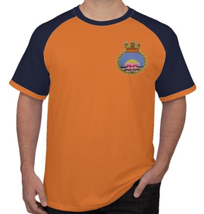 Navy INHS-Kalyani-Crest T-Shirt