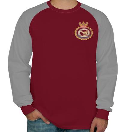 Navy INHSKasturiCrest T-Shirt