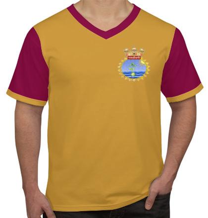 Navy CrestINHSNavjivani T-Shirt