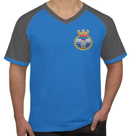 Navy INHSPatanjaliCrest T-Shirt