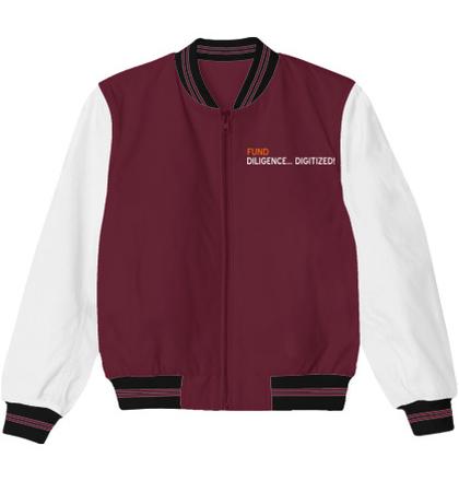 Create From Scratch Men's Jackets Diligence-Vault-Logo- T-Shirt