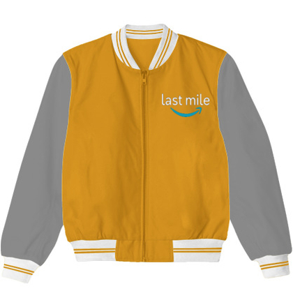 Create From Scratch Men's Jackets Last-Mile-logo- T-Shirt