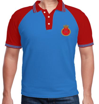 Indian Naval Design INS-Talwar-emblem T-Shirt