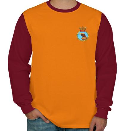 Indian Naval Design INS-Taragiri-emblem T-Shirt