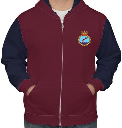 Indian Naval Design INS-Tarkash T-Shirt