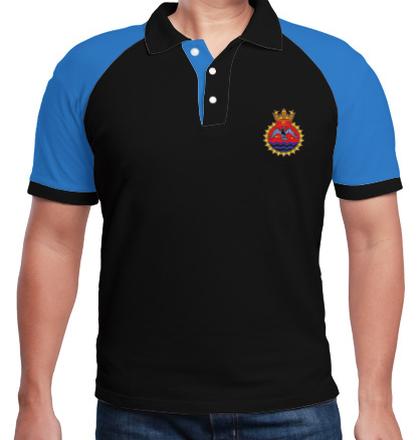 Indian Naval Design INS-Tir-emblem T-Shirt