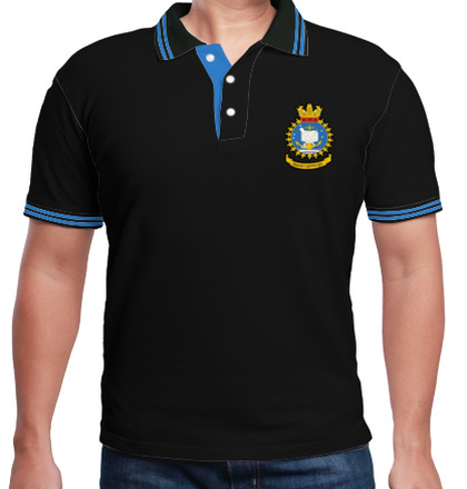 INDIAN-NAVAL-ACADEMY-CREST-POLO T-Shirt