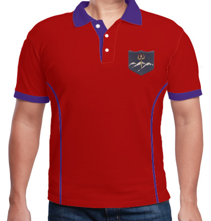 Indian Army Collared T-Shirts -INFANTARY-DIVISION-POLO T-Shirt