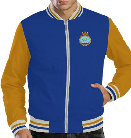 Indian Navy Zipper Jackets INS-Chakra-S-Jackets T-Shirt