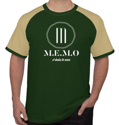 Create From Scratch: Men's T-Shirts MEMO-Logo- T-Shirt