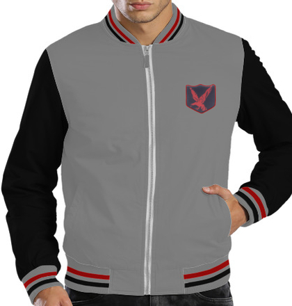 Indian Army Jackets INFANTARY-DIVISION-RED-EAGLE-JACKET T-Shirt