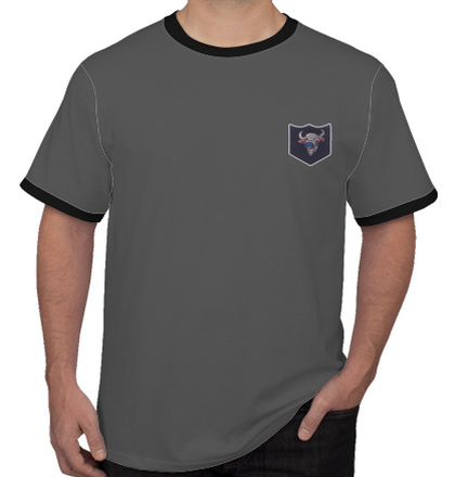 Indian Army Roundneck T-Shirts INFANTRY-DIVISION-BISON-TSHIRT T-Shirt