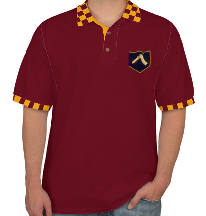 Indian Army Collared T-Shirts MOUNTAIN-DIVISION-POLO T-Shirt