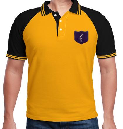 Indian Army Collared T-Shirts MOUNTAIN-DIVISION-KIRPAN-POLO T-Shirt