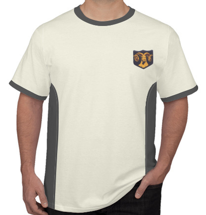 Indian Army Roundneck T-Shirts MOUNTAIN-DIVISION-RAM-TSHIRT T-Shirt