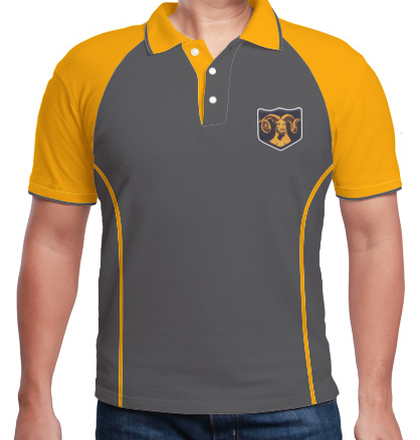 Indian Army Collared T-Shirts MOUNTAIN-DIVISION-RAM-POLO T-Shirt