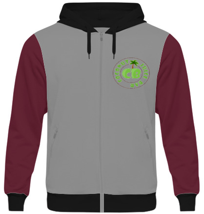 Zipper Hoodies CJB-Logo- T-Shirt