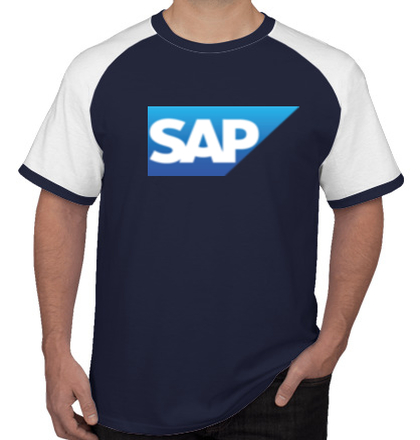 Create From Scratch: Men's T-Shirts Sap-Logo- T-Shirt