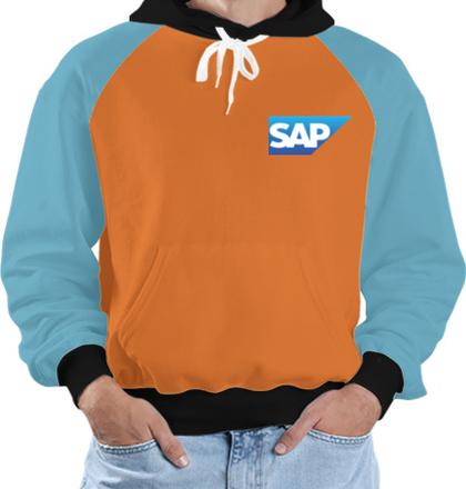 Create From Scratch Men's Jackets Sap-Logo- T-Shirt