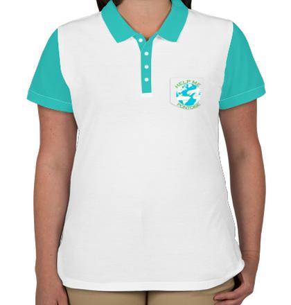 Womens Polo help-me T-Shirt