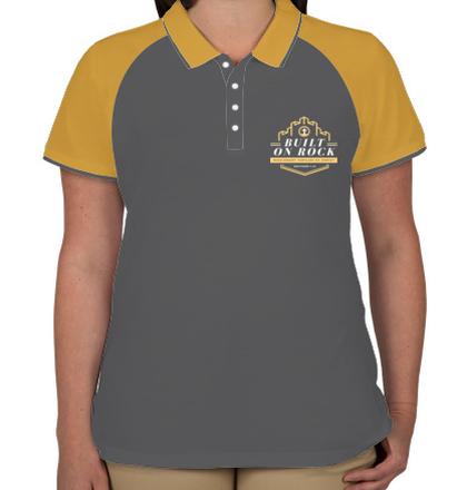 Womens Polo built-on-rock T-Shirt
