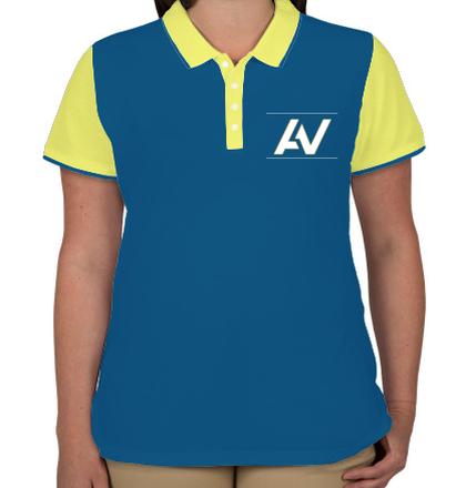 Womens Polo AV-saujla T-Shirt