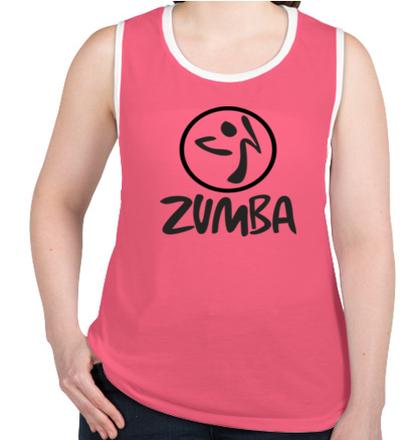Create From Scratch Women Zumba T-Shirt